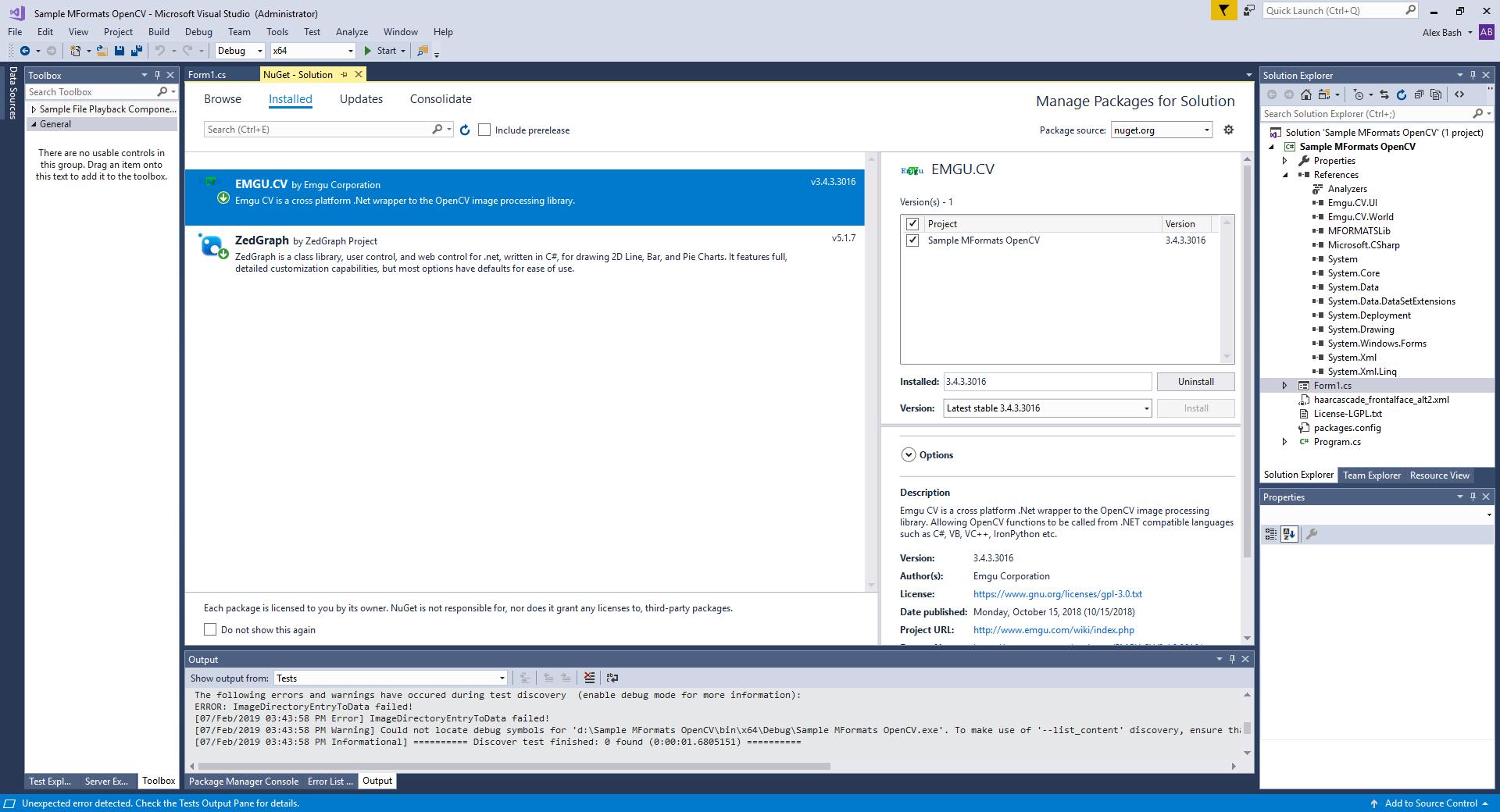 Usage of OpenCV with MFormats SDK – Medialooks Help Center